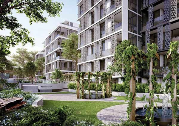 image of an apartment block