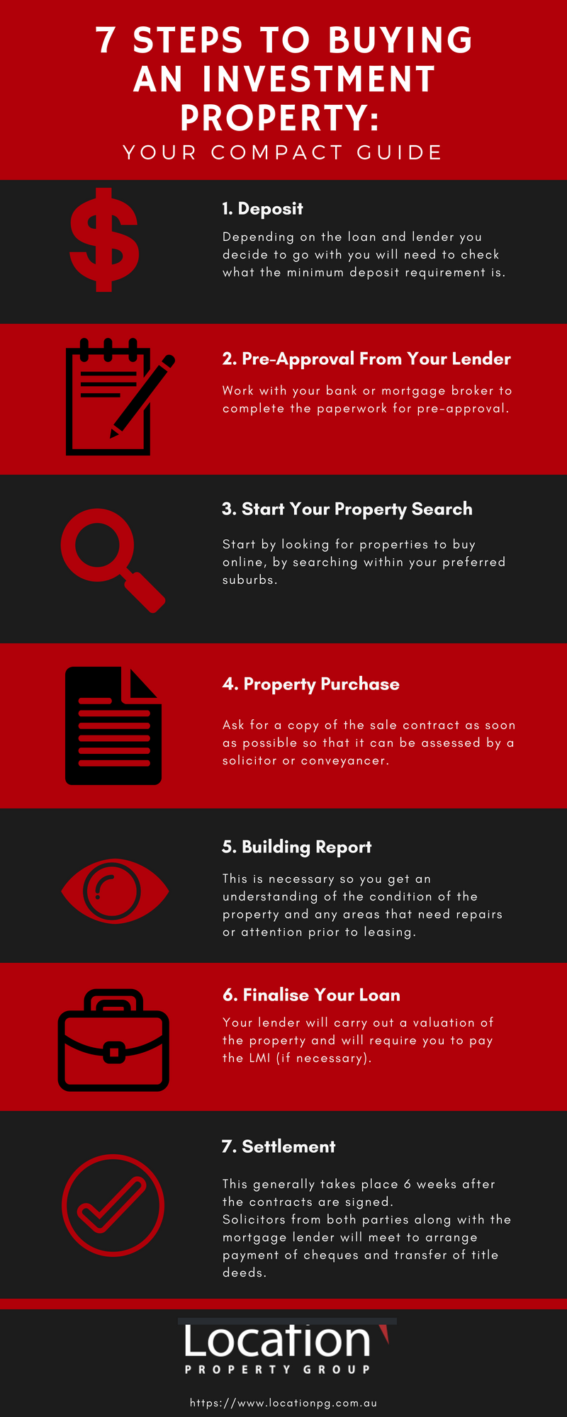 7 Steps to buying an investment property
