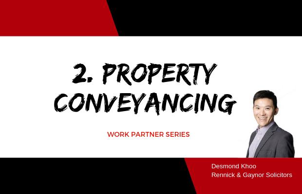 Work Partner Series: 2. Property Conveyancing Melbourne